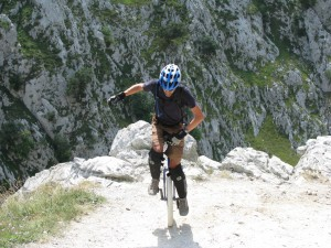 Photo de Mountain Unicycling