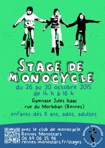 Affiche stage 26-30 octobre 2015