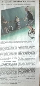 Article Ouest-France 2015-08-18