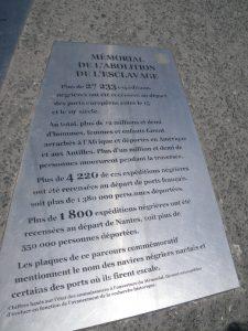 Monument de l'abolition de l'esclavage